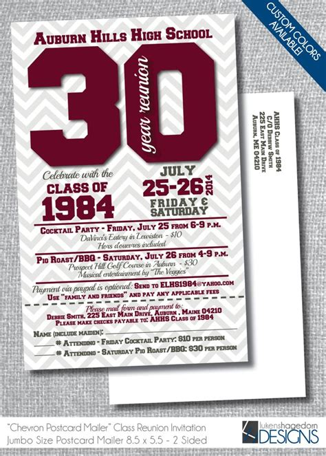 66 Best High School Reunion Invites Images On Pinterest Class Reunion Ideas Class Reunion Class Reunion Invitation Template