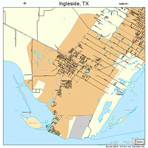 ingleside texas map ingleside texas map 4836008