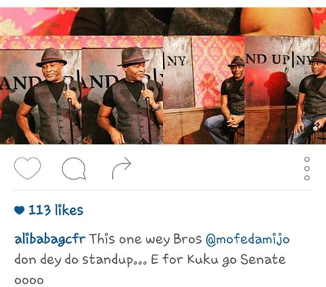 alibaba nigeria alibaba advices rmd against becoming a comedian