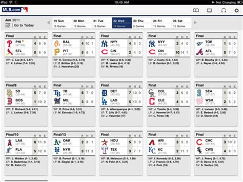 section 2 baseball scores review mlb at bat 11 app for ipad sports geekery