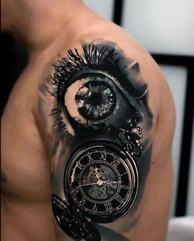 small clock tattoo 80 clock designs for timeless ink ideas