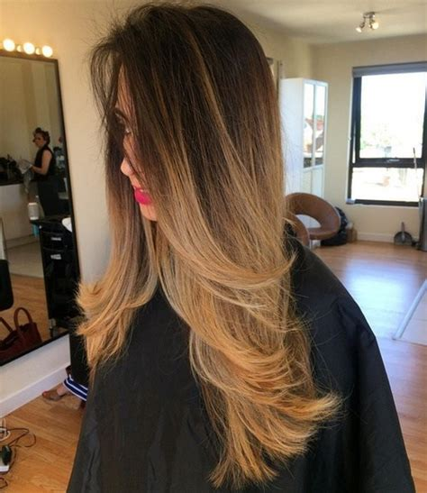 does ombre work with medium layered hair length sleek and sexy hair beauty with ombre straight hair