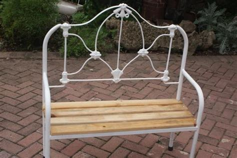 iron bed bench other furniture old antique bed bench made from cast