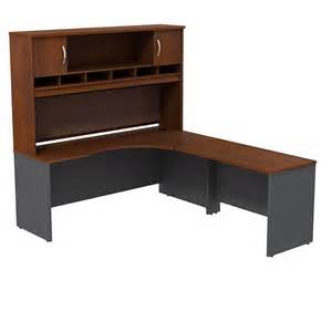 Executive L Shaped Desk Bush Series C Package Executive L Shaped Desk Src002hcr Ships Free