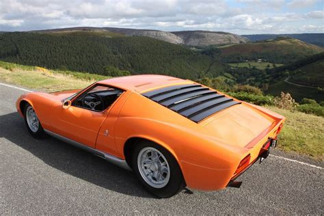 lamborghini miura the quot quot lamborghini miura for sale in the uk