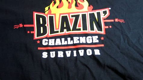 buffalo wings blazin challenge bww blazin challenge successful