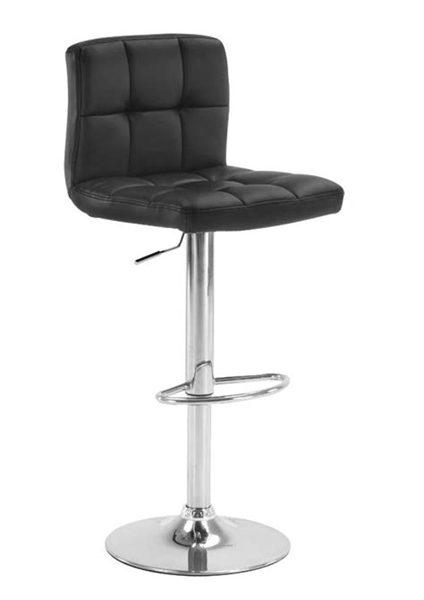 Leather Cuban Bar Stool Swivel Chrome Base Kitchen Dining Leather Swivel Dining Room Chairs