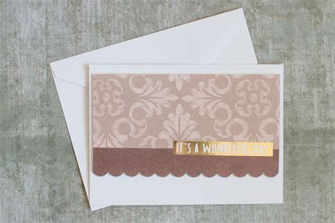 Paper Crafts Greeting Cards - 5 easy handmade cards out of paper scraps paper crafts
