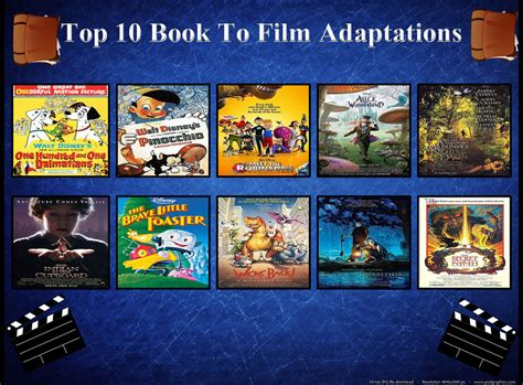 7 Best Book To Adaptations by Top 10 Books To Adaptations By Toongirl18 On Deviantart