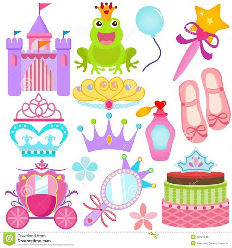 Colorful Set a colorful set of vector icons sweet princess se royalty free stock image image 22227046