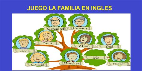 preguntas juego familia juego de la familia en ingles crucigrama