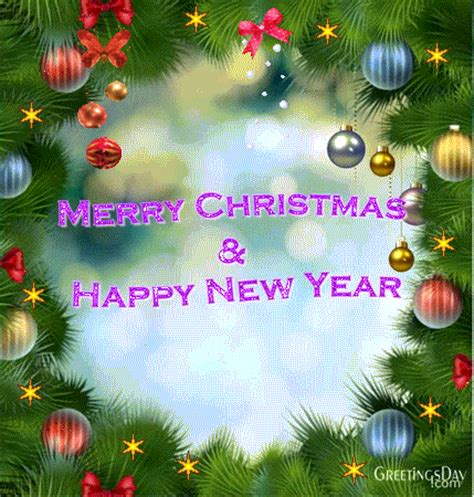 merry christmas happy  year  animated ecards gifs  pics