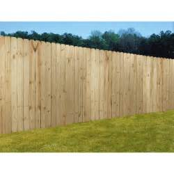 shop wood fencing 6x8 prime dog ear panel fence with 5 1 2