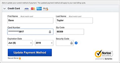 Where Is The Billing Address On A Visa Gift Card - how do i change my billing credit card on netflix ask dave taylor