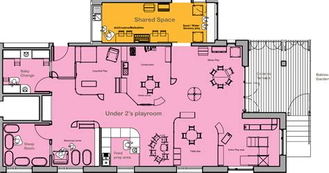 Nursery School Floor Plan | nursery floorplans arcadia nursery