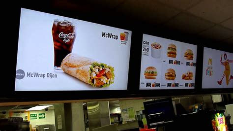 cuisine tv menut mcdonalds rotaria pantallas 218 digital