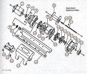warn winch 2500 diagram warn free engine image for user manual