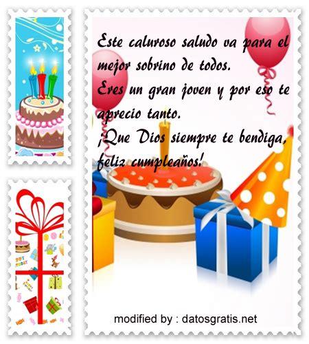 tarjetas cristianas para sobrinos tarjetas y postales de tarjetas con textos de cumplea 241 os para un sobrino datosgratis net