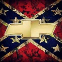 rebel flag with chevy symbol southern