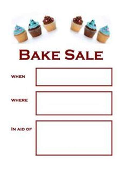 1000 Images About Bake Sale Goodies On Pinterest Bake Sale Bake Sale Flyer And Bake Sale Ideas Bake Sale Fundraiser Flyer Template