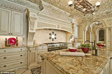 Kitchen Cabinet Crown Molding Ideas by Inside Atlanta S Most Expensive Home With 11 Bathrooms