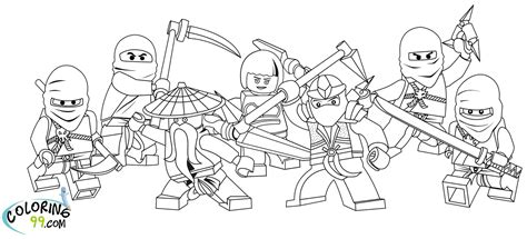 free coloring pages of ninjago malvorlagen
