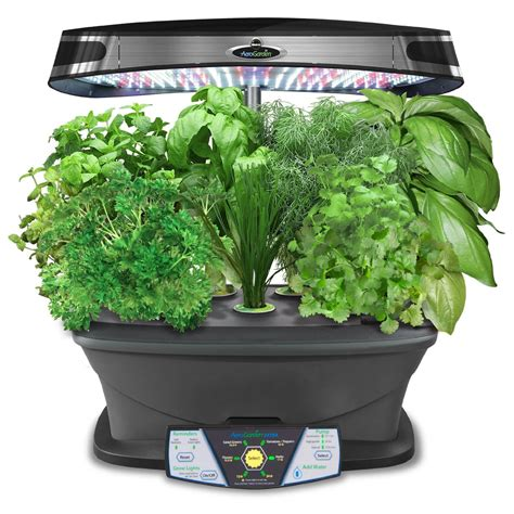 Indoor Garden Kit | miracle gro aerogarden extra led indoor garden with