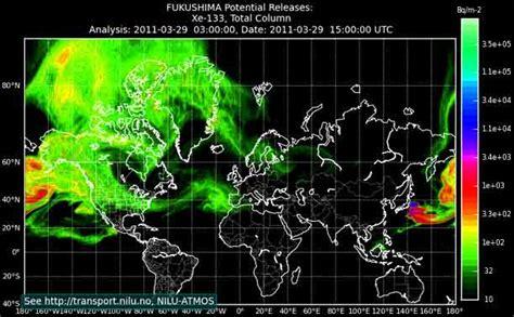 fukushima radiation map fukushima coverup findingthetruth