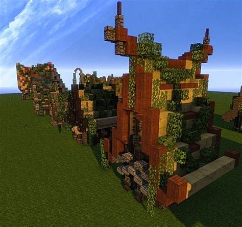 Creative Minecraft Houses by Creative Colorful Houses Minecraft Project