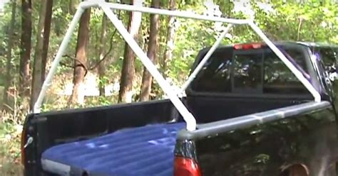 diy truck bed tent youtube user karenchakey demonstrates how she uses her