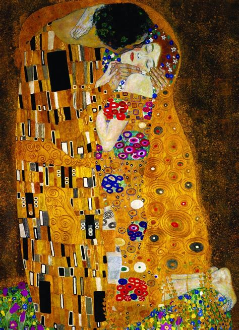 el cuadro el beso puzzles eurographics puzzle de 1000 piezas el beso de