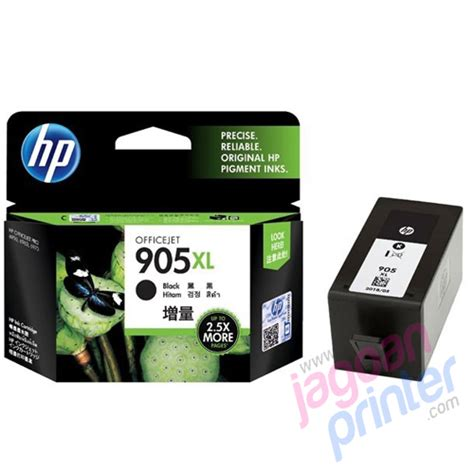 Tinta Printer Hp Perbotol Jual Hp Black Ink Cartridge 905 Xl Murah Garansi Resmi
