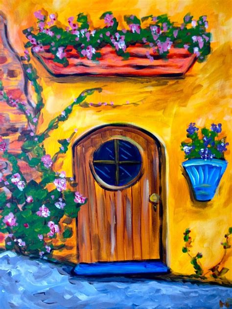 paint with a twist ideas 109 best door images on beautiful paintings