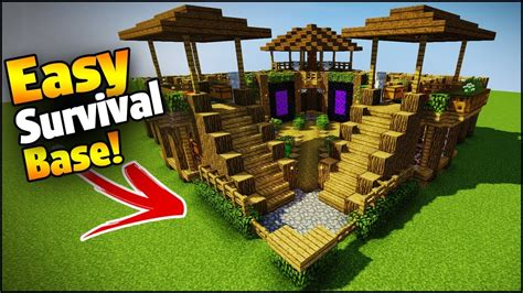 minecraft grian boat minecraft 3 player ultimate survival base easy tutorial