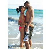 Gabrielle Union Parades Her Toned Figure In A Pink Bikini As She Hugs