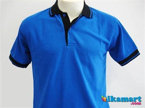 Kaos Baju Polos Combed Biru Solid Pria Wanita Cewek Cowok 1 harga kaos combed gamis abadi
