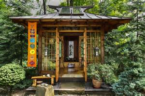 Outside Playhouse Plans japanese tea house asian landscape other metro by