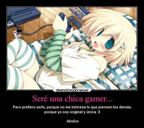 imagenes de anime videojuegos ser 233 una chica gamer desmotivaciones