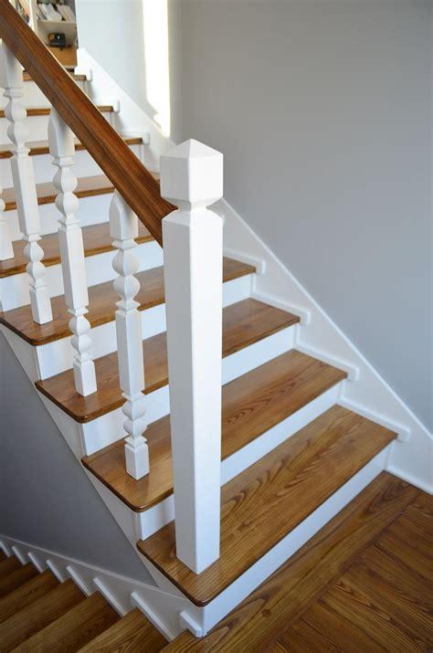diy jak odnowić stare drewniane schody od inspiracji