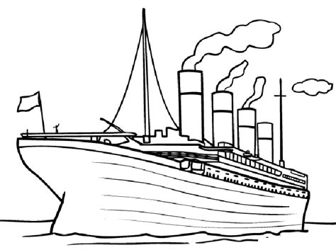 ships coloring pages printable free printable titanic coloring pages for