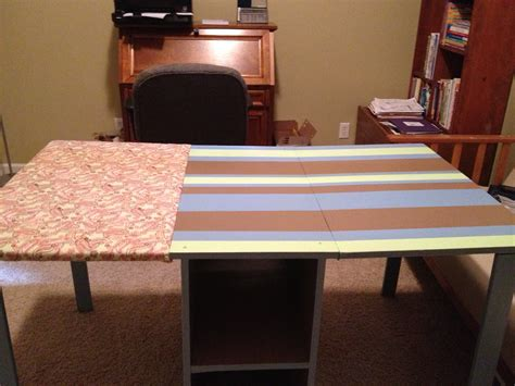 sewing table with ironing board white sewing table with ironing board leaf diy