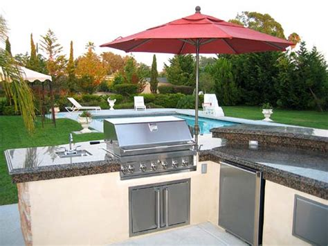 Backyard Kitchen San Diego Outdoor Kitchen Design For Barbeques Or Whatever You Like