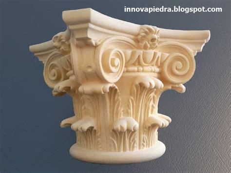 html imagenes en columnas capiteles corintios para columnas romanas innovapiedra
