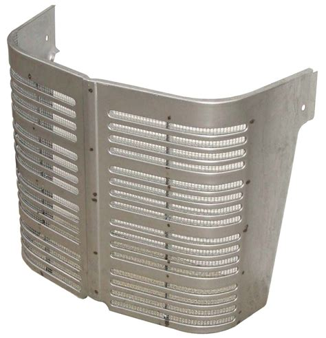 grill section center grille section w screen a b c hoods cowls