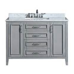 Lowes Vanity Grey Shop Ove Decors Grey Undermount Single Sink Birch Bathroom