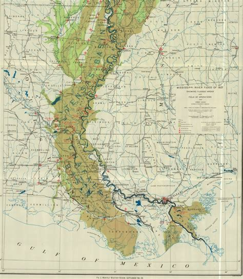 louisiana flood maps louisiana historical maps