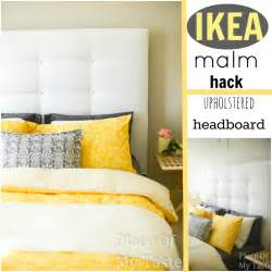 ikea hack headboard 20 diy home decor projects link party features i heart nap time