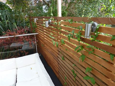 contemporary fence contemporary fencing abel landscaping