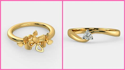 Simple Gold Ring Design by Simple Gold Ring Designs For Designer Gold