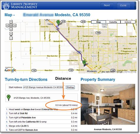 Search Distance Between Two Addresses Irene Chan Ms Realtor Modesto Ca Real Estate